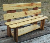 Genius Handmade Pallet Wood Furniture Ideas
