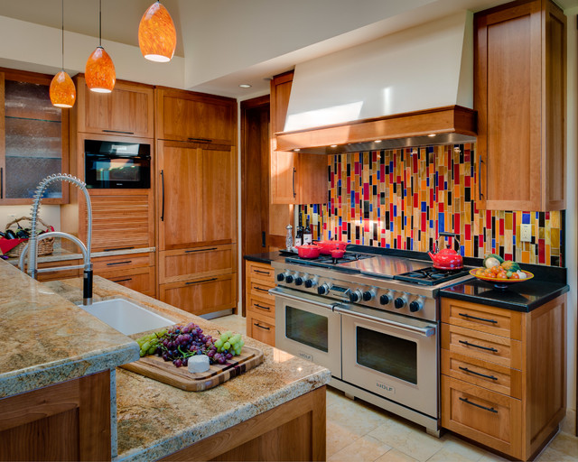 southwest kitchen white cabinets glass doors 17 warm southwestern style interiors you re going to adore youre
