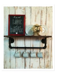 20 Savvy Handmade Industrial Decor Ideas You Can DIY For ...