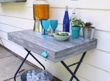 19 Super Easy & Cheap DIY Outdoor Bar Ideas