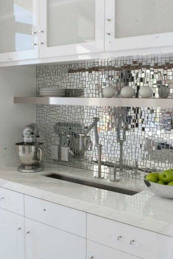 16 Inexpensive  Easy DIY Backsplash Ideas To Beautify Your Kitchen