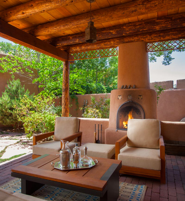 15 Welcoming Southwestern Porch Designs To Inspire You