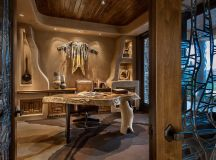 16 Encouraging Southwestern Home Office Designs You'll ...