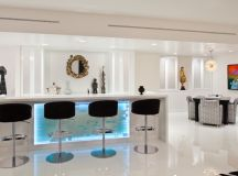 17 Extravagant Contemporary Home Bar Designs That Are ...