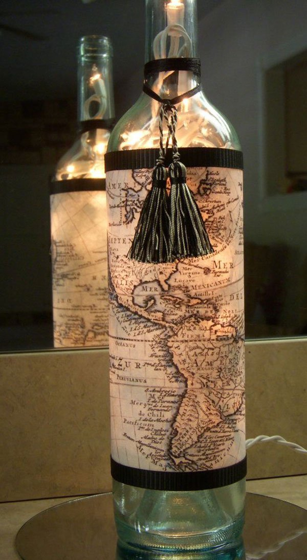 top 20 most ingenious ideas to make recycled lamps from