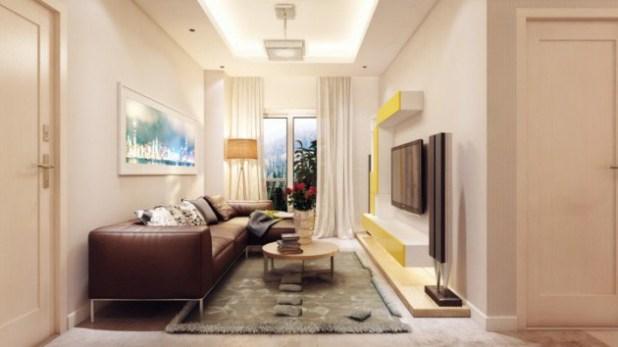 how to decorate a narrow living room   Centerfieldbar.com