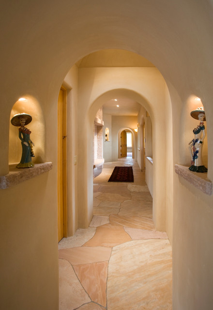 18 Appealing Southwestern Hallway Designs That Can Literally Connect Your Home