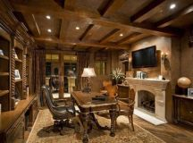 21 Really Impressive Home Office Designs In Traditional ...