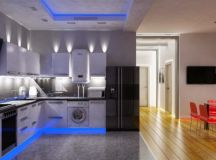 16 Awesome Kitchen LED-Lighting Ideas That Will Amaze You
