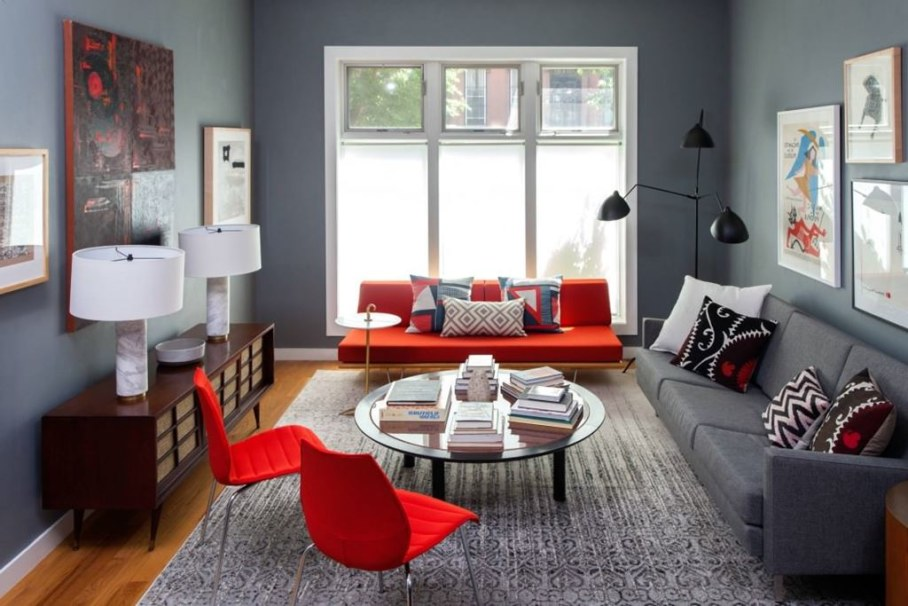 living room ideas grey and red canvas 16 gorgeous rooms with details