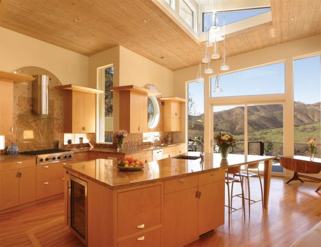 19 Truly Amazing Kitchen Designs With Breathtaking View