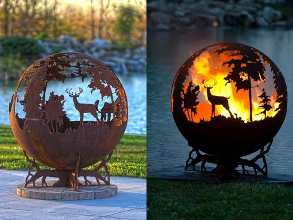 Fall Pumpkin Wallpaper Hd 19 Creative Diy Rusted Metal Projects To Beautify Your Yard