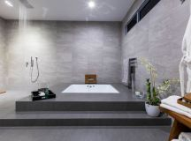 15 Really Awesome Bathrooms With Sunken Bathtub That Will ...