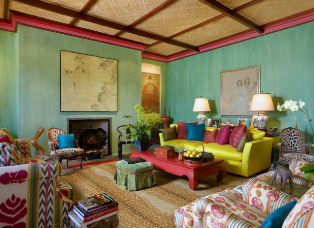 16 gorgeous colorful living