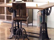 16 Classy Office Desk Designs In Industrial Style
