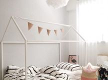 15 Irresistible Child's Bed Designs In The Form Of House