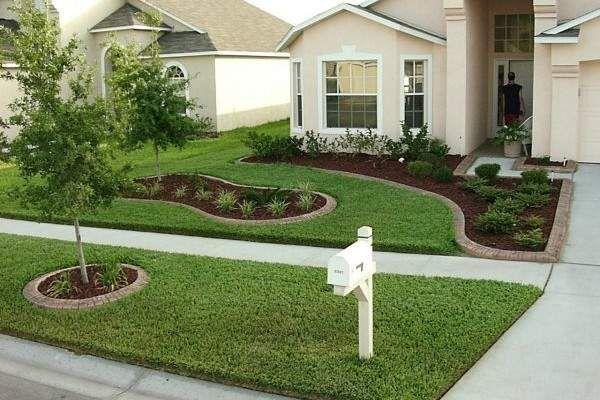divine front yard design