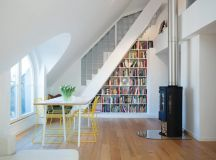 15 Functional Libraries Under The Stairs For Better Use Of ...