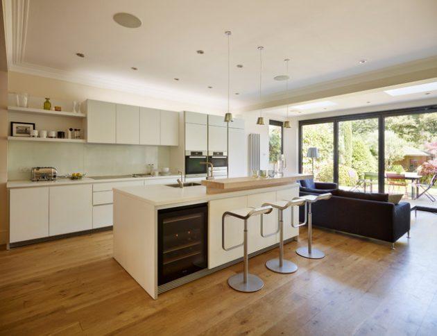 17 Impressive Open Plan Kitchen Designs That Everyone