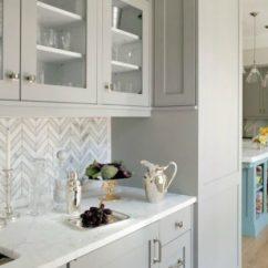 Kitchen Backsplash Design Drop In Sinks 17 Excellent Designs With Geometric Pattern