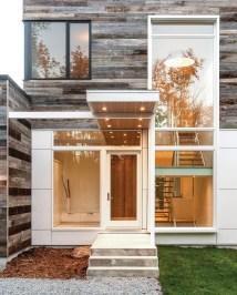 Modern Front Door Overhang