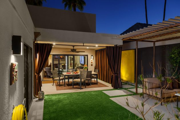 How To Turn Your Backyard Into An Entertainment Mega Center