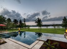 17 Magnificent Small Infinity Swimming Pool Designs To ...