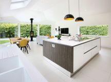 17 Impressive Open Plan Kitchen Designs That Everyone ...