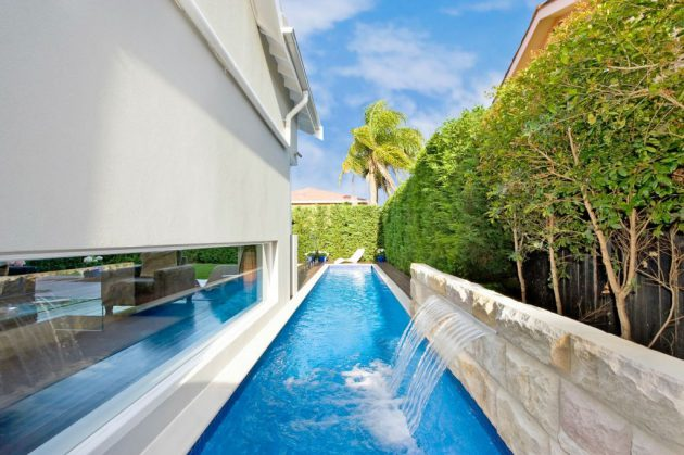 17 Spectacular Narrow Swimming Pool Designs That Will