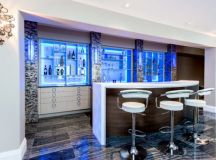 19 Really Beautiful Breakfast Bar Designs For Contemporary ...