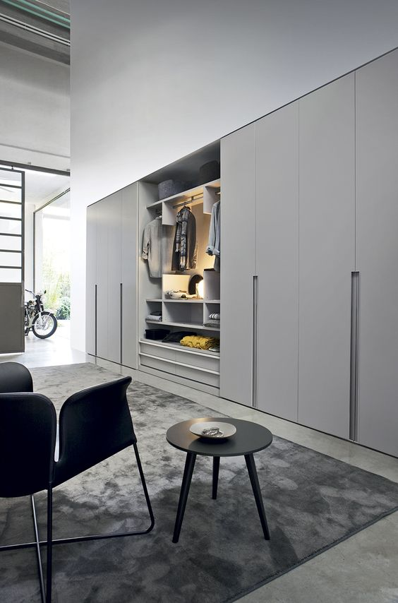 living room closet ideas photos of rooms with grey walls 16 magnificent designs sliding doors