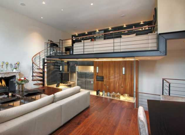 decorated living rooms images black and white room ideas pictures 15 interesting mezzanine designs that will ...