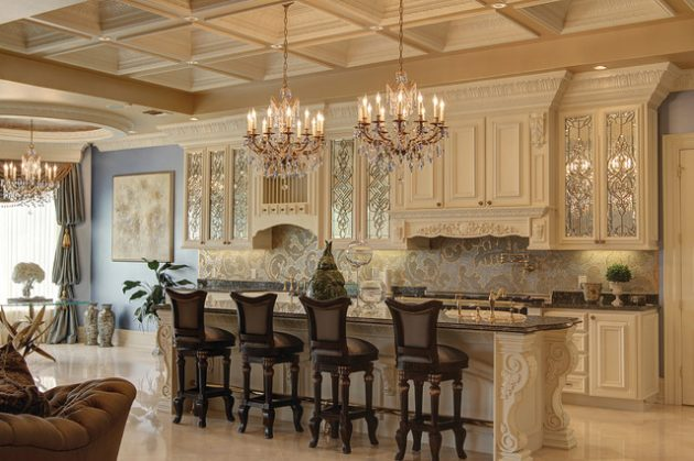 15 Timeless Baroque Kitchen Designs That You Must See