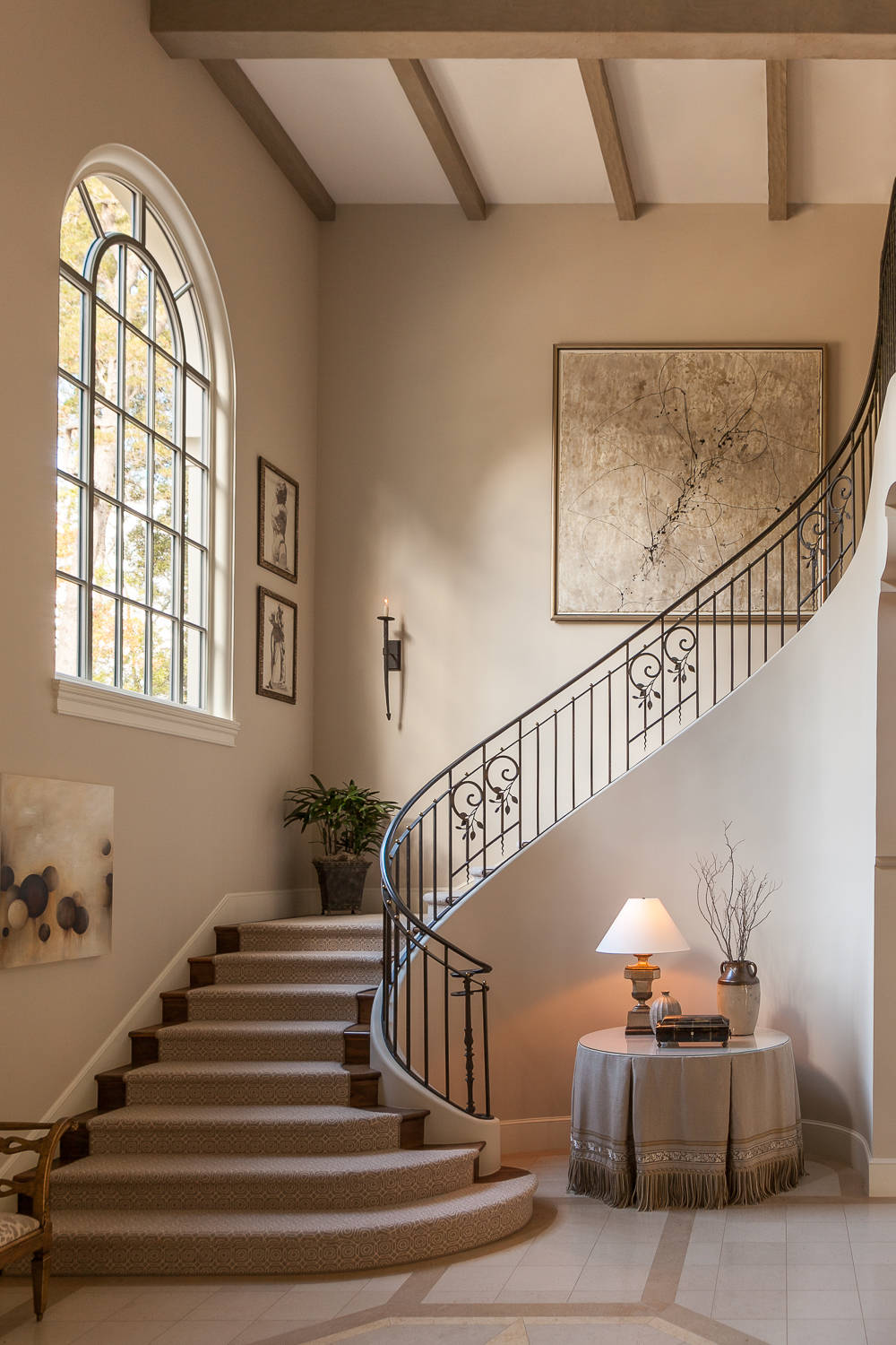 living room show homes ideas 2018 small 15 incredible mediterranean staircase designs that will ...