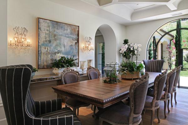 Mediterranean Dining Room Design