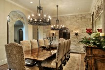 Absolutely Gorgeous Mediterranean Dining Room Design