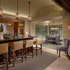 Living Room In Spanish Blue Furniture Sets 18 Seductive Mediterranean Home Bar Designs For Leisure ...