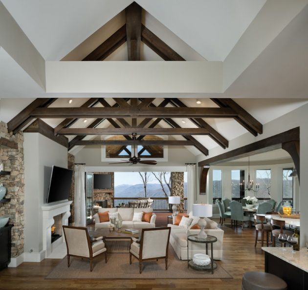 mixing furniture styles living room large wall art for india 15 interesting mezzanine designs that will ...