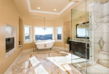 Mediterranean Master Bathroom Idea