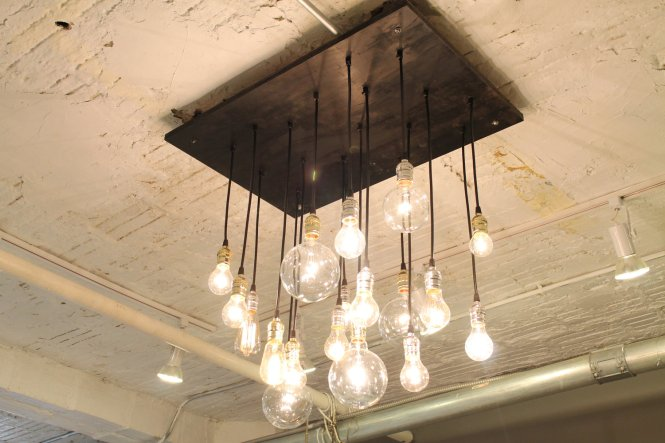 Chandelier With Vintage Bulbs 20 Unconventional Handmade Lighting Designs You Can Diy