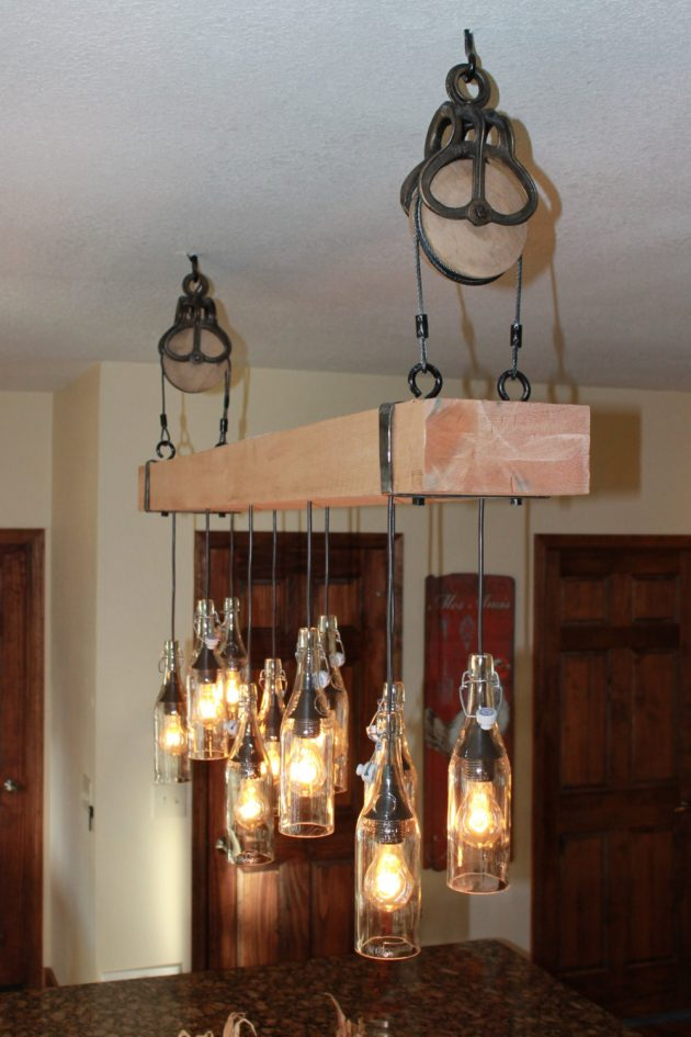 20 Unconventional Handmade Industrial Lighting Designs You