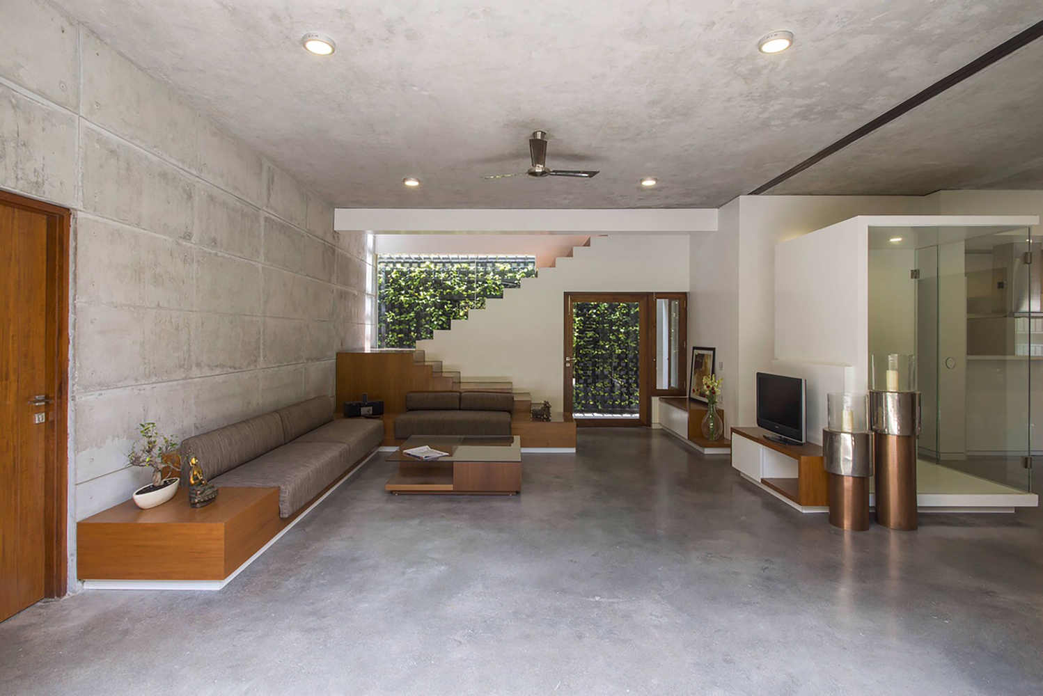 The Badri Residence  A Modern Indian Home by Architecture