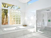 21 Charming Ideas Of Glass Block Windows To Enhance Your ...
