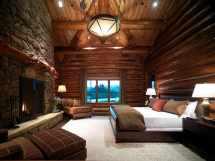 Wicked Rustic Bedroom Design