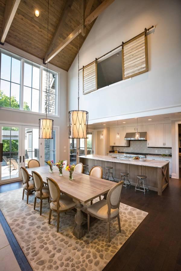 Majestic Rustic Dining Room Design 't