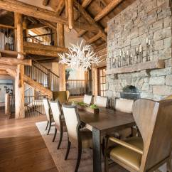Luxury Living Room Yellow And Gray Rugs 16 Majestic Rustic Dining Designs You Can't Miss Out