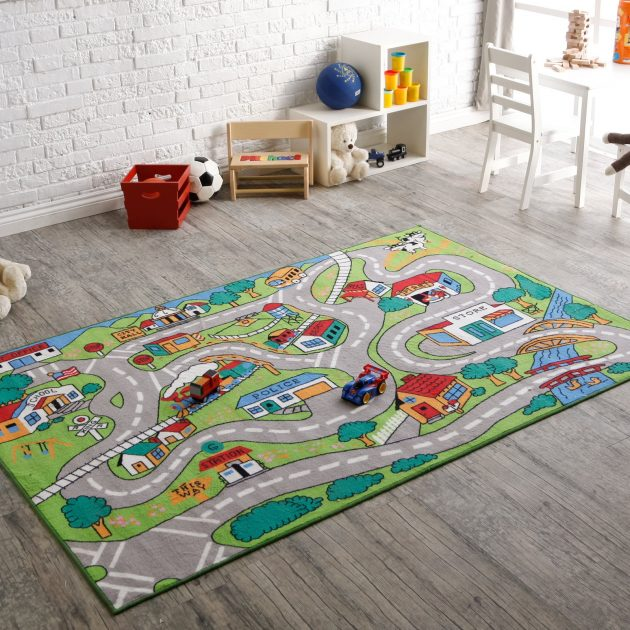 15 Compelling Playful Carpet Designs To Surprise Your Kids