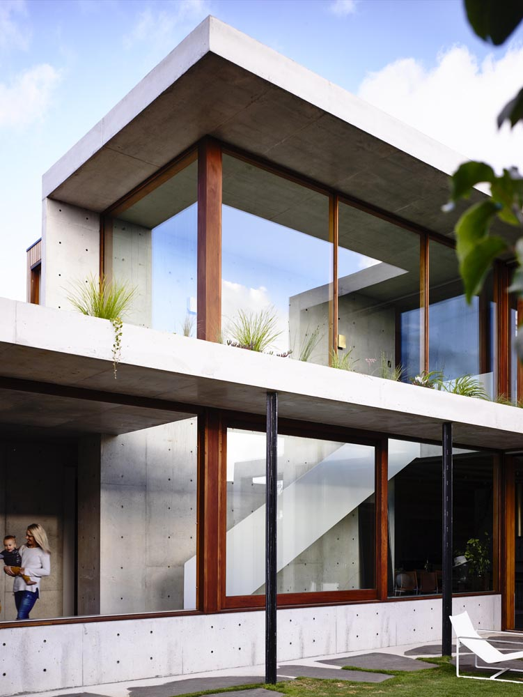 Concrete House By Auhaus Architecture In Torquay Australia