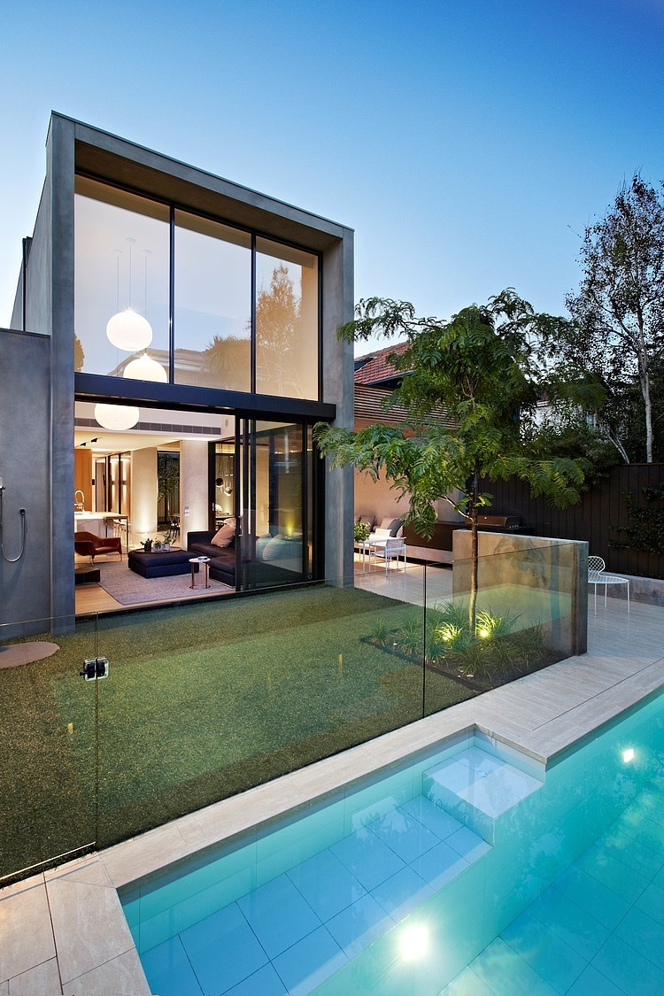 Oban House by AGUSHI and David Watson Architect in South Yarra Australia