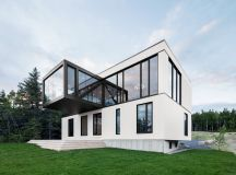 The Blanche Chalet by ACDF Architecture in Canada